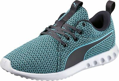 PUMA CARSON 2 SOFTFOMM COMFORT SNEAKERS WOMEN SHOES TURQUOISE/BLACK SIZE 10 NEW