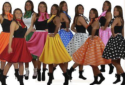 Rock N Roll Skirt n Scarf Set 1950's - Damen Rock N Roll Kostüme