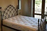 King Size Gothic Wrought Iron Bed.