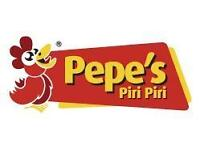 Full time / Part time Restaurant Staff and Delivery Drivers needed - Pepe's Piri Piri in Cambridge