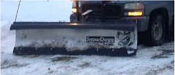 End of the winter sale!!! 8 ft SnowDog Plow