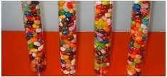 Candy tubes packaging, clear tubes, black lids, ****Give us your best offer