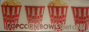 Ceramic Popcorn Bowls In Box