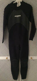 Aleeda Techno Long Sleeve Steamer Wetsuit + Boots