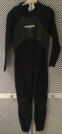 Aleeda Techno Long Sleeve Steamer Wetsuit + Boots