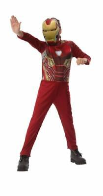 Girls Iron Man Costume (Child Boys Iron Man Infinity War Basic Costume Size Medium)