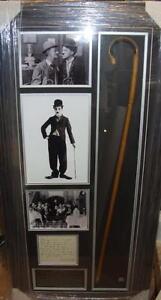 CHARLIE CHAPLIN Vintage Signed Montage AFTAL