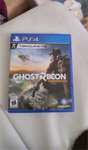 Ghost recon ps4 30$