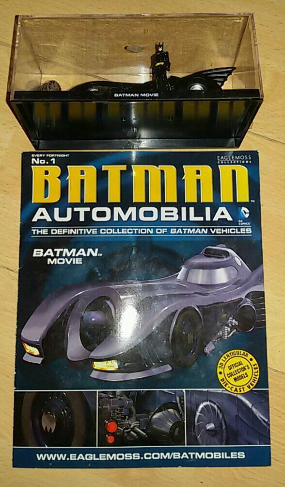 Batman dc comics1:43 scale car
