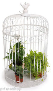 vintage deko 3er set vogelk fig h ngen und stellen gro ca 25 x 25 x 44 cm neu ebay. Black Bedroom Furniture Sets. Home Design Ideas