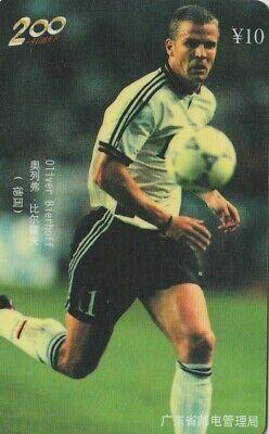 CHINA, FUTBOL - FOOTBALL, OLIVER BIERHOFF (ALEMANIA). J8(20-4)98. (083)