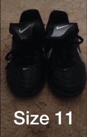 Football boots size 11