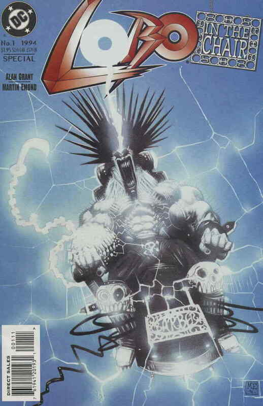 Lobo: in the Chair #1 VF/NM; DC | save on shipping - details inside