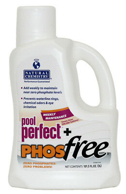 Natural Chemistry 05131 Spa Swimming Pool Perfect Plus PHOSfree, 3 Liters