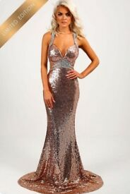 Limited Edition Rose Gold Formal Dress