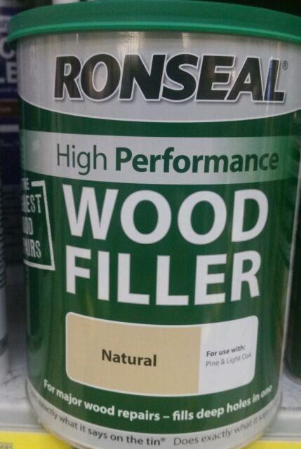 1 kg Ronseal wood filler natural