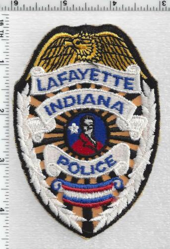 Lafayette Police (Indiana) 2nd Issue Shoulder Patch