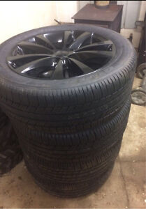 Wheels and tires from 2014 Dodge Avenger