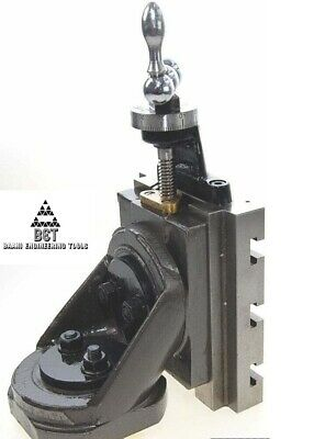 New Swivel 2 Way Lathe Milling Vertical Slide Base 4 Inch X 5 Inch High Quality