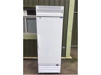 Commercial Catering Upright Fridge In White Restaurant Takeaway Pub