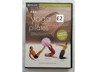 Pilates/Yoga DVD's individually priced