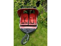 Out n About nipper 360 double pram with lots of extra's