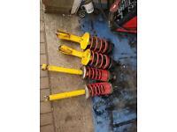 Mk2 golf gti 16v suspension kit top mounts complete