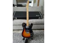 Fender 72 custom telecaster (mex) and hardcase