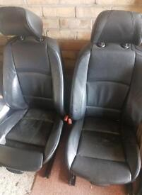 Bmw e92 black leather seats and door cards with speakers