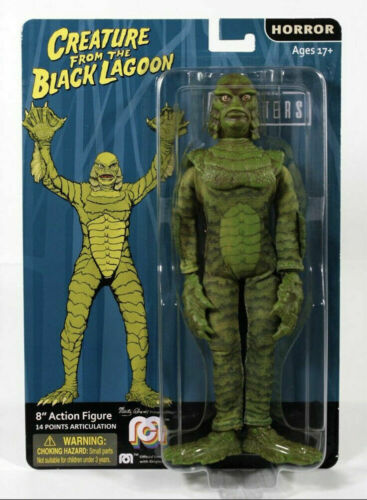 "NEW 2020 MEGO 8"" UNIVERSAL MONSTERS CREATURE FROM THE BLACK LAGOON FIGURE MOC!"