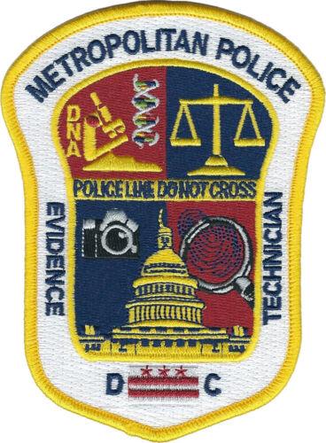 Metropolitan Police Evidence Technician DC