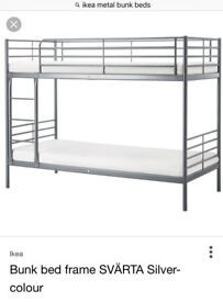 Bunk Bed - Complete with two mattresses