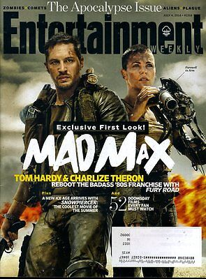 Mad Max Entertainment Weekly Magazine July 4 2014