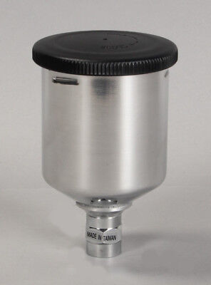200cc Metal Gravity Cup For Accuspray Gravity 10g 07 Series