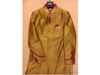 Men's Indian Wedding Salwar Kameez Size 38