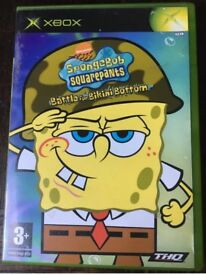 Sponge bob battle for bikini bottom Ps2 game