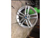 BMW 3 Series M sport alloy
