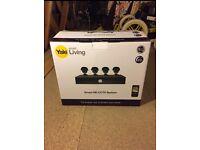 Yale 4 Camera Smart HD CCTV System BNIB