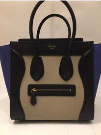 Celine tricolor Tote Handbag