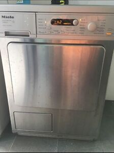 Miele professional series stainless steel clothes condenser dryer Epping Ryde Area Preview