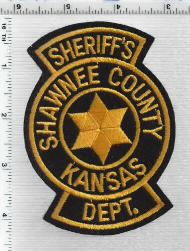 Shawnee County Sheriff Patrol (Kansas) 1st Issue Shoulder Patch