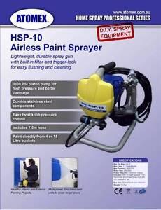 Airless Sprayer Atomex HSP-10 Kew Boroondara Area Preview