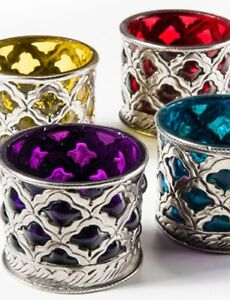 Moroccan-Indian-Style-Glass-Metal-Tealight-Candle-Tea-Light-Holder-in-4-Colours