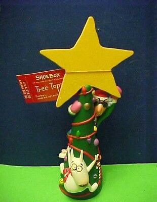 1997 Hallmark Shoebox Maxine Floyd Plastic Christmas Tree Topper