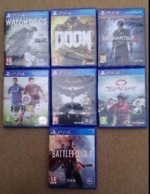 PS4 games - offers