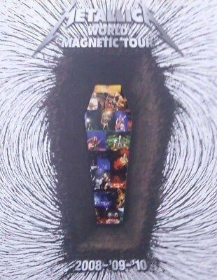 METALLICA DEATH MAGNETIC CONCERT PROGRAM PROGRAMME 2008