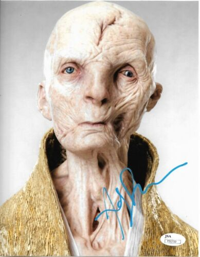 Andy Serkis Star Wars Autographed Signed 8x10 Photo JSA COA #S