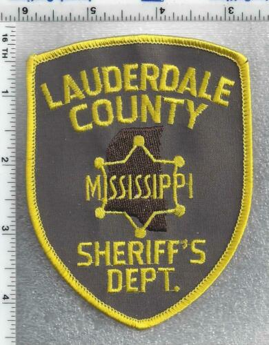 Lauderdale County Sheriff (Mississippi) 2nd Issue Shoulder Patch