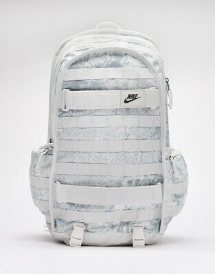 NIKE SB RPM WHITE ICE GREY CAMO SKATEBOARDING BACKPACK GYM BAG LAPTOP BA6391 008