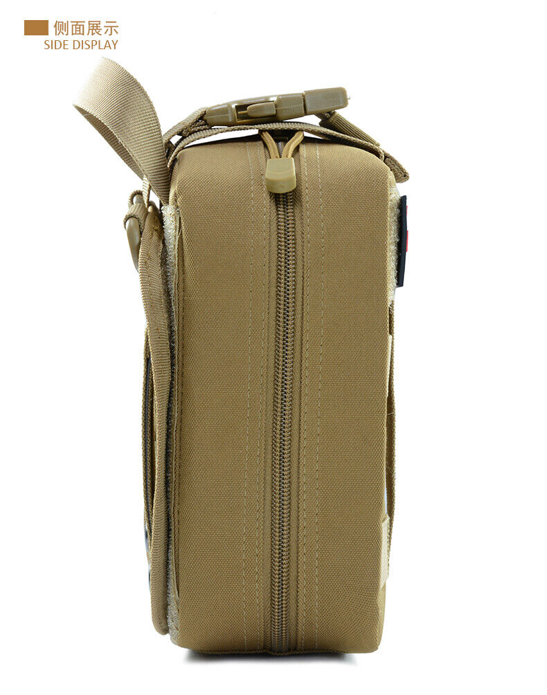 Durable First Aid Kit Tactical Survival Kit Molle Rip-Away EMT Pouch Bag Medical First Aid